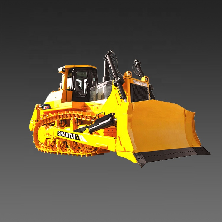 Shantui SD42-3 420hp big Construction เครื่อง Bulldozer