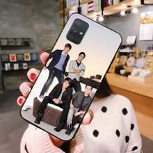 Черный мягкий чехол Btr для Samsung A10, A20, A30, A40, A50, A70, A80, A71, A91, A51, A6, A8, 2018(Китай)