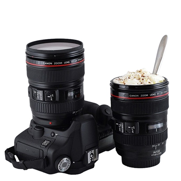 Zogifts anon coffee mug camera lens mug