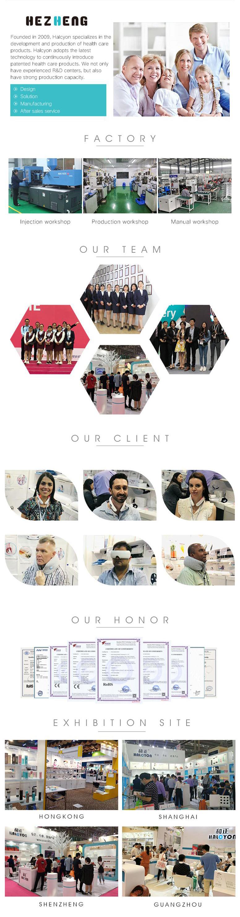 2020 Hot Sale Bluetooth Vibration Wireless Eye Care Massager Electric Eye Mask