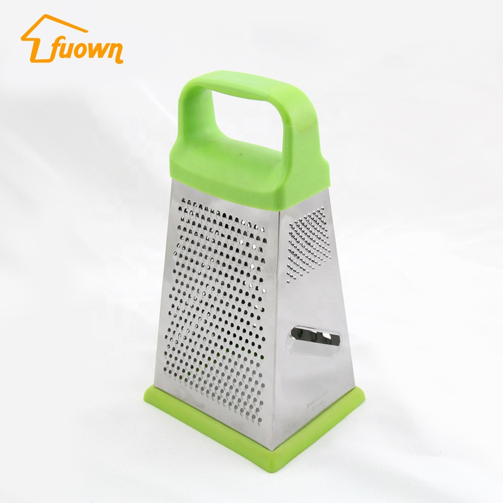 2018 new gadgets Kitchen gadgets 4 sides stainless steel fruit & vegetable grater from Chinese gold supplier
