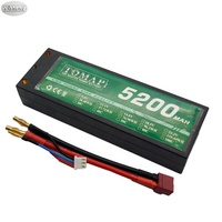 Oem Hard Case 5200Mah Bateria Discount Price Rechargeable Batteries 3S 11.1V 4S Lipo 14.8V 2S 7.4V Rc Car Battery Packs