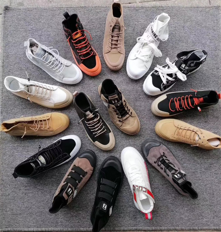 WZY factory stock a lot of clearance shoes leisure shoes men's sports shoes in stock