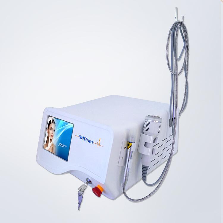 Teknologi Terbaru 30W 980nm Diode Laser Vascular Removal Mesin