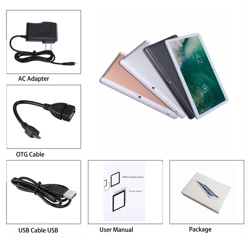 Free sample factory directly supply 10.1 inch android 7.0 tablet pc for entertainment