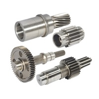 high quality cnc flexible drive helical gear alloy stainless steel atv shaft