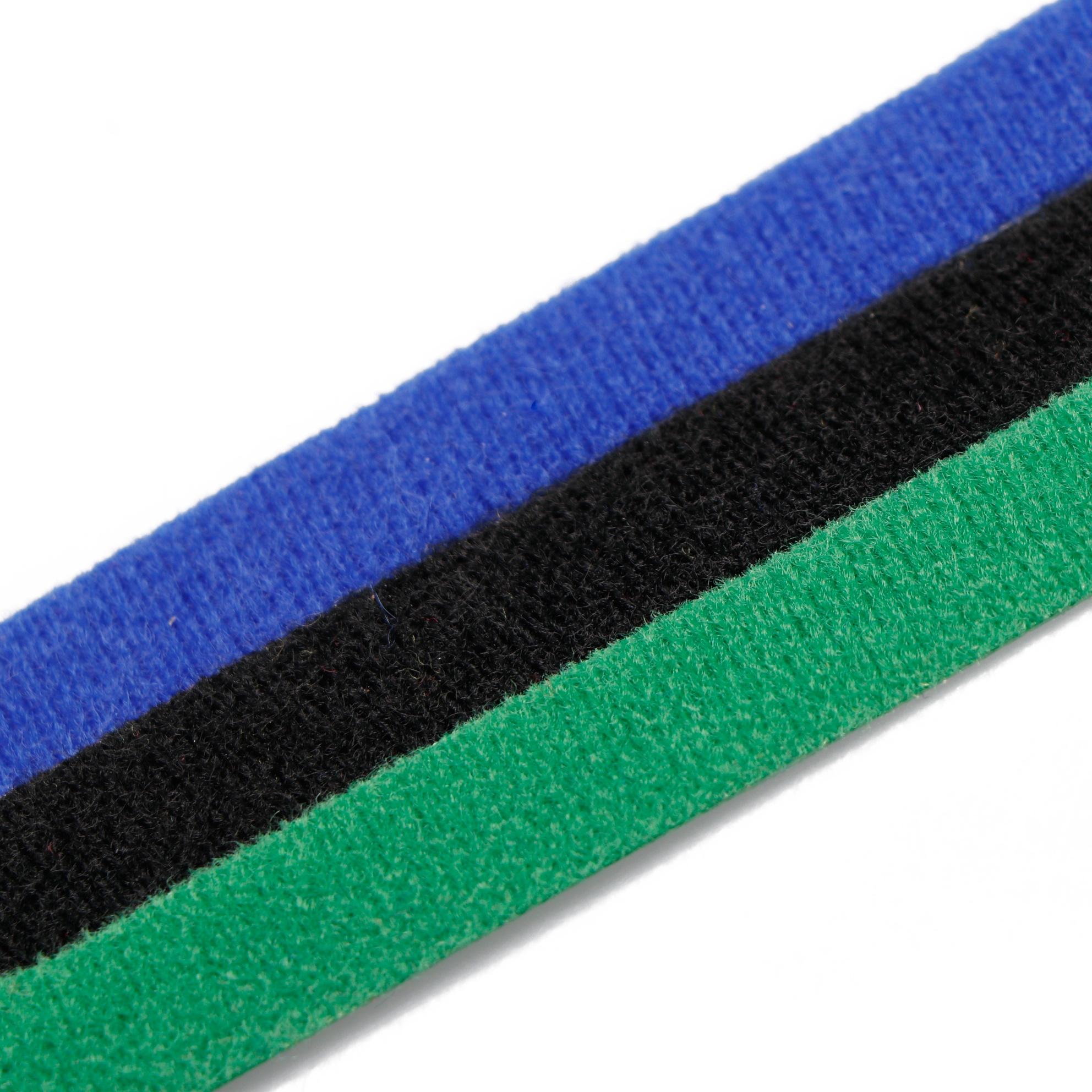 Цвет микрофибры крюк петля шнуры управление провода Организатор обертывания регулируемый шнур Галстуки многоразовые крепления кабельные стяжки