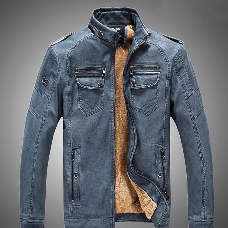 vestes en cuir lavées à l'acide
