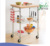 Bamboo Kitchen Trolley Cart with Wheels