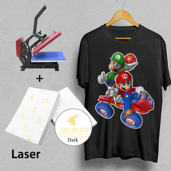 Laser Dark Shirt Heat Transfer Print Paper