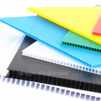 9mm 100% Recyclable Polypropylene PP Hollow Board Corrugated Plastic Sheet