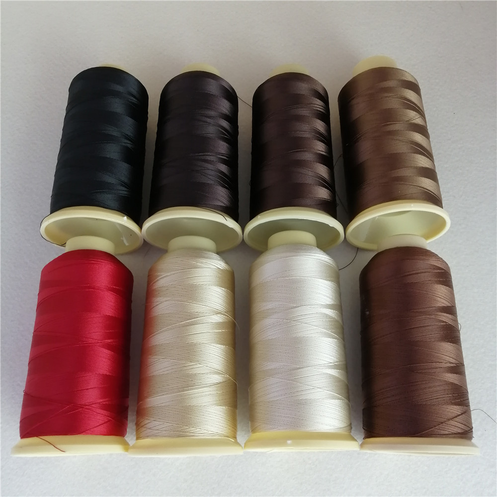 Nylon polyester hair extension Weaving Thread