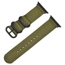Тонкий спортивный нейлоновый ремешок Blue Line для Apple Watch Band 5 4 3 2 42 мм для iwatch Series 5 4 3 2 1 Sport 40 мм 38 мм ремешок браслет(Китай)