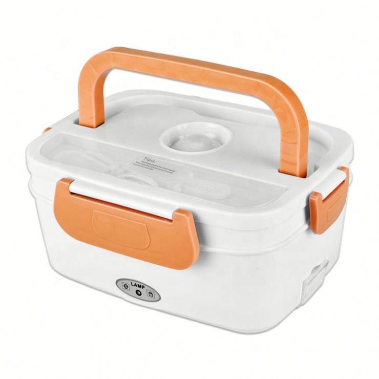 Desain Baru Pp Plastik Kantor Kotak Bento Memasang Electric Kotak Makan Siang Makanan Hangat