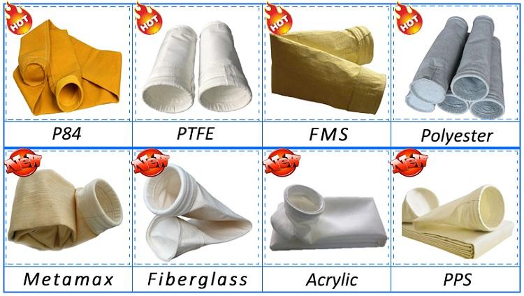 Orta Fiyat homopolimer akrilik iyi hava adaptasyon yağ ve su geçirmez düz örgü torba filtre fiyat.