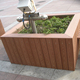 178272 Home and garden synthetic wood plastic planter box