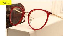 Оптические прозрачные очки для женщин, очки для близорукости, оправа, металлические очки, прозрачные линзы, женские очки(Китай)