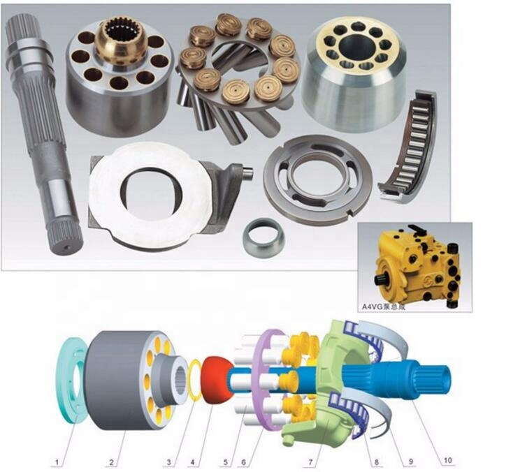Rexroth A4VG71 A4VG90 A4VG125 Hydraulic Travel Motor Repair Kit Spare <strong>Parts</strong>