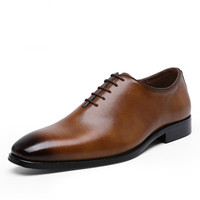 PDEP popular classic for men fashion cheap casual size 38-47 business dress cow leather shoes flat in stock men dress shoes