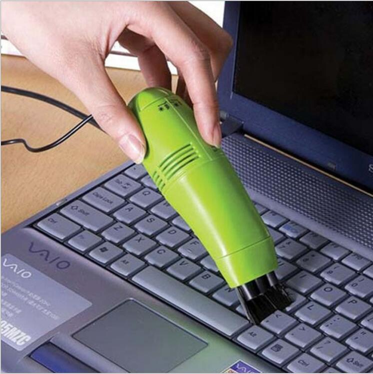 Cheap price Mini USB Desktop Table Keyboard Vacuum Cleaner with Brushes computer vacuum cleaner brush
