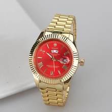 Топ люксовый бренд WINNER черные часы Мужские Женские повседневные мужские часы деловые спортивные военные часы из нержавеющей стали 6753(China)