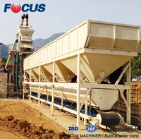 HZS35 35m3/h small concrete batching plant price