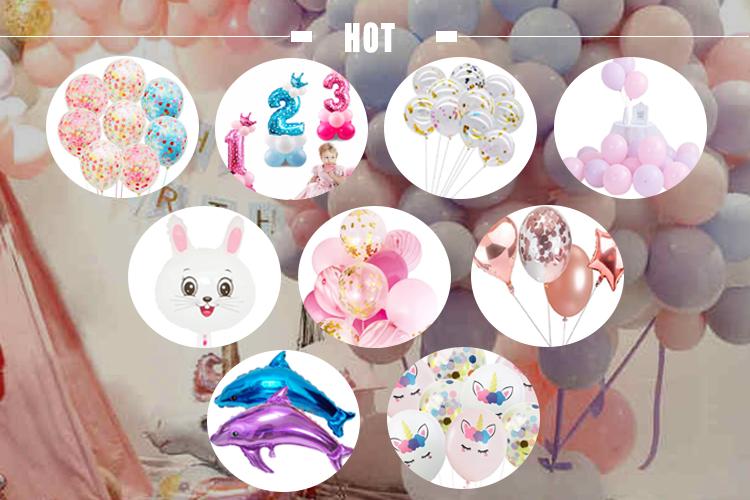 Preço de fábrica Filme Congelado Tema balão da folha para o aniversário e festa decoração