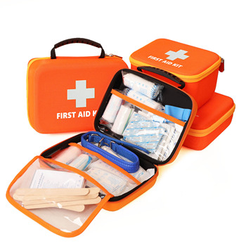 Custom EVA Hard Carry Packaging Ifak Medical Kit, Home Personal First Aid Kit Emergency With Supplies