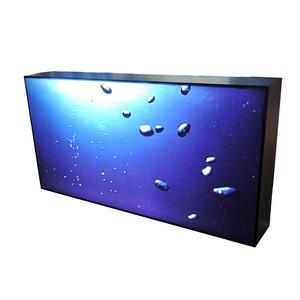Aluminum Frame Textile LED Lighting Box Fabric Frameless Advertising Display LED Backlit Light Box