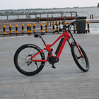 "26"" mountain bike/good quality downhill MTB bicycle/moutain bicycle bike custom accept with full suspension"