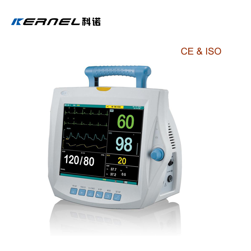 CE Approval Stable Multi-parameter Patient Monitor With Six Parameters and Recorder Function High Resolution - KingCare | KingCare.net