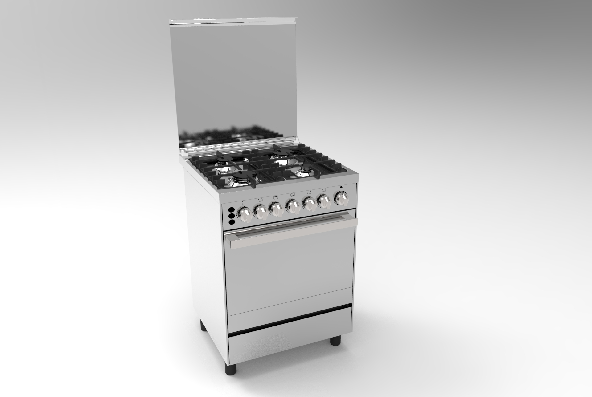 special control 90*60 electric cooking stove for South Africa chef