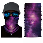 Fashion Polyester Seamless Skull Custom Logo Printed Tube Face Shield Bandana Buffs
