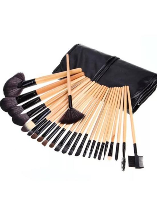 lower prices fashion high quality vegan makeup brush black