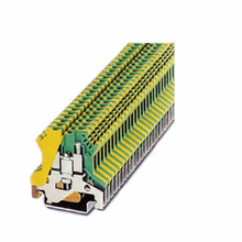 plastic 2.5b 6.2mm uk phoenix din rail terminal block