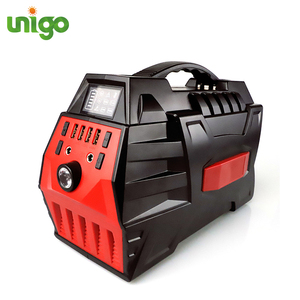 UNIGO alternative power 500W 296wh home use ups lithium battery solar energy generator