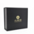 Luxury Black Matte Cardboard Magnetic Folding Boxes Custom Logo Gift Packaging Boxes for Hair extension