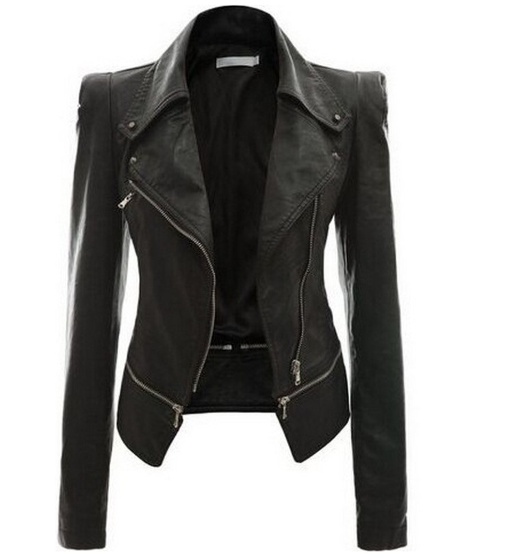 hb10240a 2020 <strong>Winter</strong> Pu Leather Jacket <strong>fashion</strong> women <strong>coat</strong>