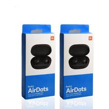 Earphone Earbud untuk Xiaomi Redmi Airdots S Fone De Ouvido Earphone Mi <span class=keywords><strong>Benar</strong></span> Nirkabel Headphone BT 5.0 TWS Air Dots headset