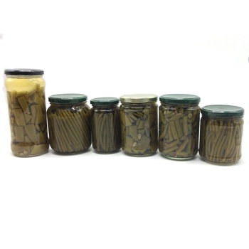 Wholesale Fresh Organic Green Beans Cut Canned In Glass Jar