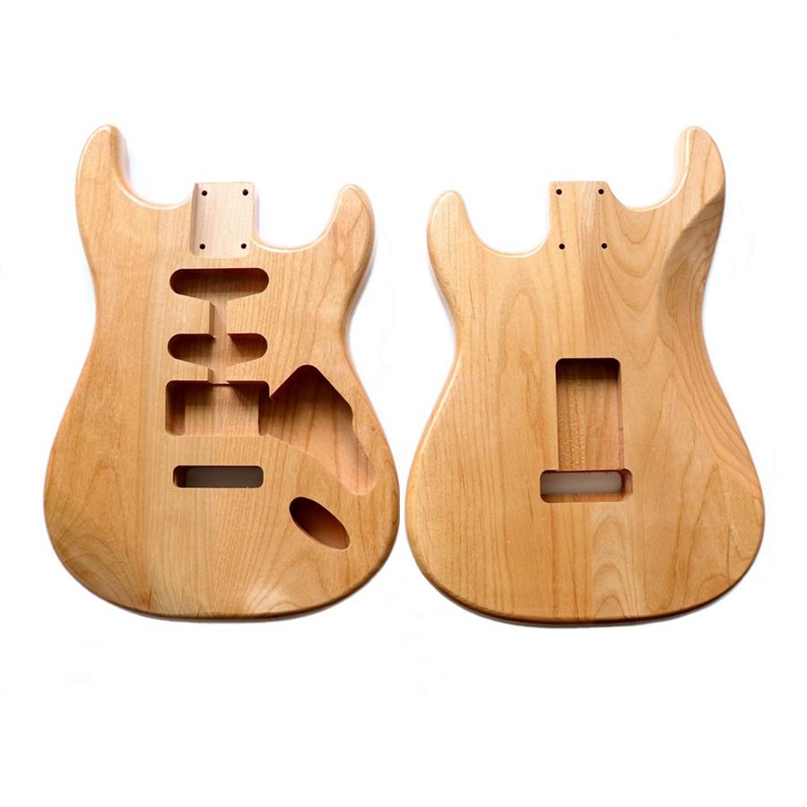 2 Piece American Alder 2 Tone Sunburst Stratocaster Electric Guitar Body