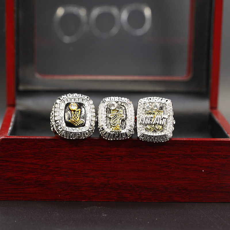 2006 2012 And 2013 Miami Heat Championship Rings Set Europe And The United States To Commemorate The Nostalgic Classic Ring Buy Championship Rings Basketball Championship Ring Golden State Warriors Championship Ring Product On Alibaba Com
