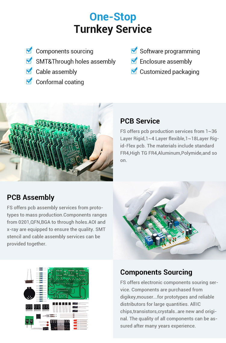 2020 Hot Sale Industrial Controller PCB Board Circuit Board Auto PCBA Assembly