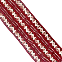Custom Ethnic Style Crafts Accessories Jacquard Costume Ribbon