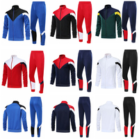 Factory Wholesale Thailand Quality Football Team Tracksuit Custom Design Soccer Club Jacket