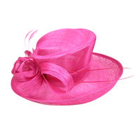 Wholesale church hats women church straw suits with hats