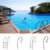 Swimming Pool Equipment 2019 Hot Sale Swimming Pool Stainless Steel Ladder Parts