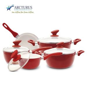 3 piece nonstick forged aluminum fry pan set with non-stick coating and full induction bottom