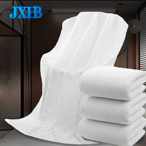 100% Cotton White Luxury Terry Cotton Hotel Bath Towels