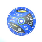180x22.23mm multi-purpose diamond blade for concrete/stone/non-ferrous metal/steel/marble